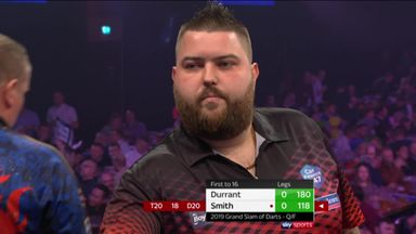 Smith opens with 118 checkout