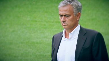What is in Mourinho's in-tray at Spurs?