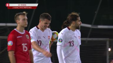 Xhaka helps Swiss to victory