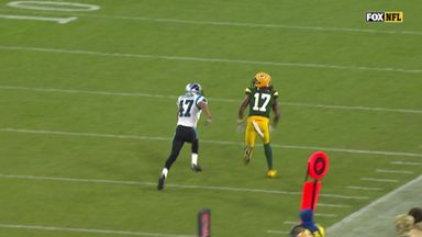 Rodgers drops dime for Adams