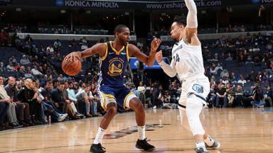 NBA Wk5: Warriors 114-95 Grizzlies