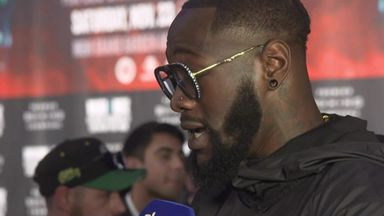 Wilder: Ortiz is in great shape