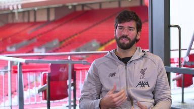 Neil Mellor talks to Alisson