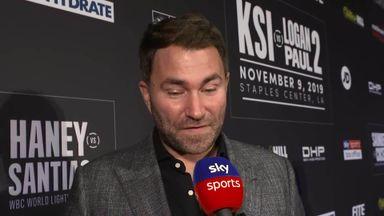 Hearn: KSI looked nervous in head-to-head