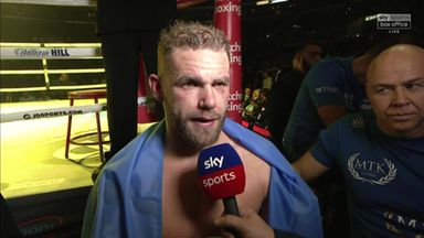Saunders making no excuses