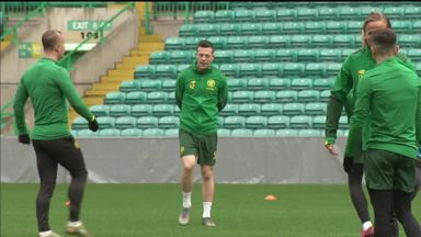 Celtic prepare for Lazio encounter