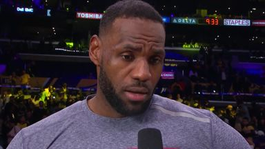 LeBron: Important for me to set the tone
