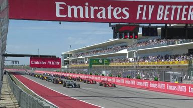 First lap: USA GP