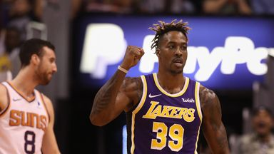 'Team guy' Dwight most improved so far