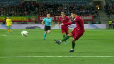 Ronaldo sweeps home second