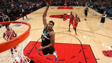 Giannis dominates the Bulls
