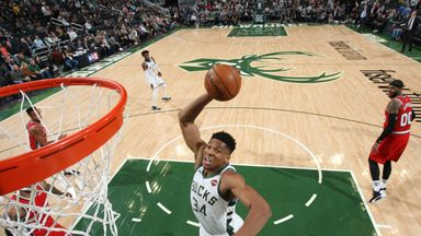 Giannis fires for triple-double