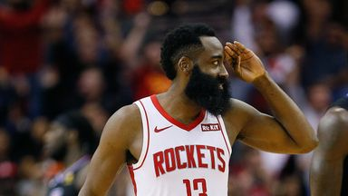 Harden erupts for 47 against Clippers