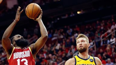 Harden hangs 44 on Pacers