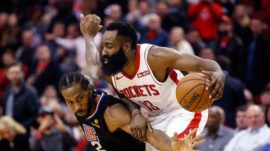 Harden outduels Kawhi in Rockets win