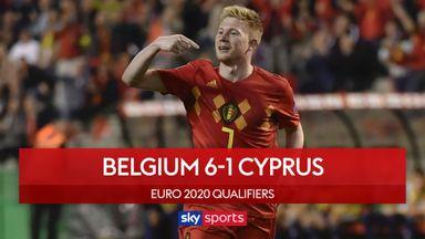 Belgium 6-1 Cyprus