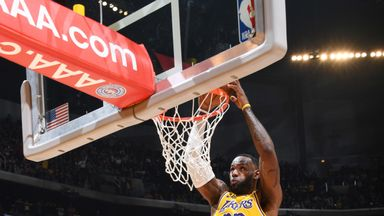 LeBron makes history with triple-double