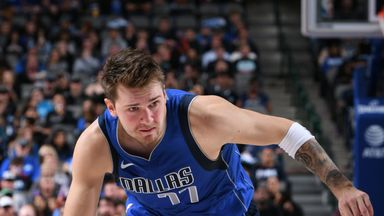 Doncic does it all in Dallas win