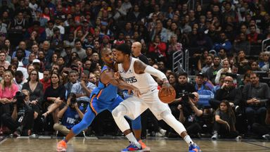 NBA Wk5: Thunder 88-90 Clippers