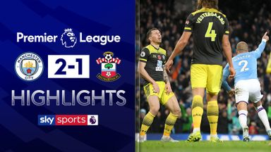 City leave it late to beat Southampton
