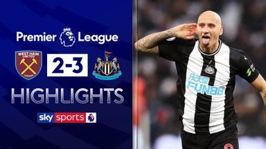 Newcastle hold off West Ham fightback