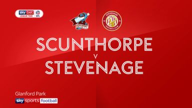 Scunthorpe 0-0 Stevenage
