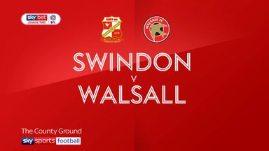Swindon 2-1 Walsall