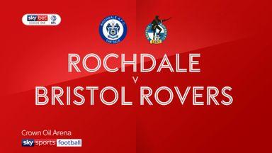 Rochdale 1-2 Bristol Rovers