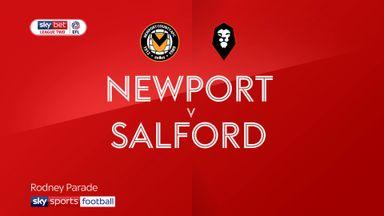 Newport 1-2 Salford