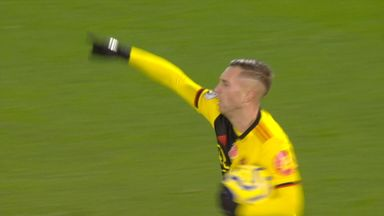 Deulofeu scores after VAR review