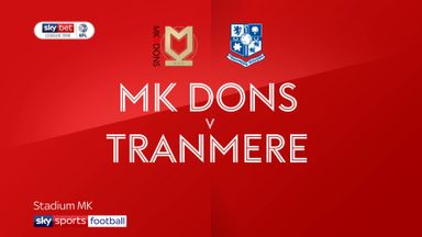 MK Dons 1-3 Tranmere