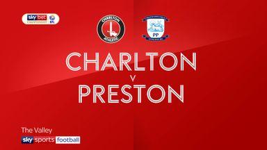 Charlton 0-1 Preston