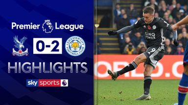 Soyuncu and Vardy see off Palace