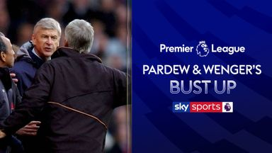 PL Vault | Pardew and Wenger's bust up