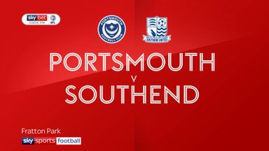 Portsmouth 4-1 Southend