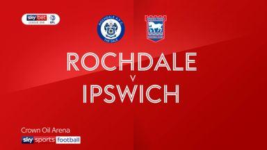 Rochdale 0-1 Ipswich