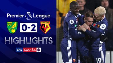 Deulofeu stars as Watford beat Norwich
