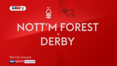 Nottingham Forest 1-0 Derby