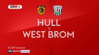 Hull 0-1 West Brom
