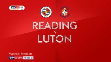 Reading 3-0 Luton