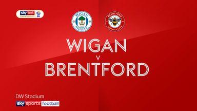 Wigan 0-3 Brentford
