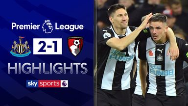 Newcastle earn second PL home win