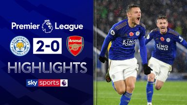 Vardy, Maddison pile pressure on Arsenal