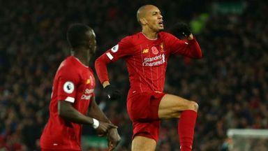 HT Liverpool 2-0 Man City