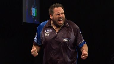 Jackpot wins with 113 checkout