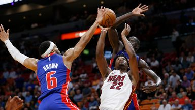 NBA Wk4: Pistons 108-117 Heat