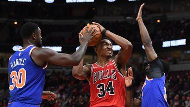 NBA Wk4: Knicks 102-120 Bulls