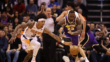 NBA Wk4: Lakers 123-115 Suns