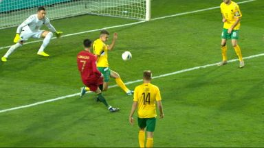 Ronaldo completes hat-trick in style