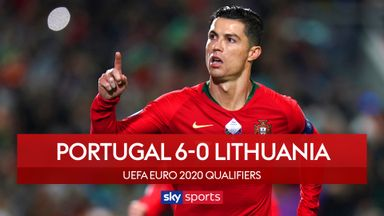 Ronaldo hits hat-trick in Portugal rout